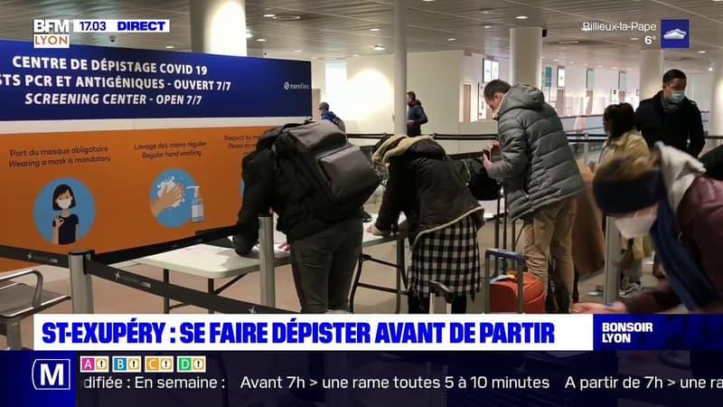 Lyon-Saint-Exupéry : se faire dépister avant de partir