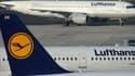 Des avions de la Lufthansa à l'aéroport de Dusseldorf, le 13 mars. (photo d'illustration)