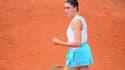 Elsa Jacquemot lors du Roland-Garros 2020