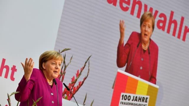 Angela Merkel le 12 novembre 2018.