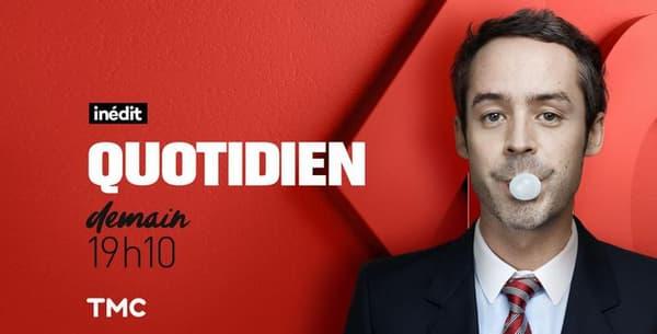 "Yann Barthès sera à la tête de Quotidien"""