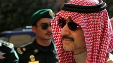 Le prince saoudien Al-Walid Ben Talal, le 23 février 2015 à Riyad