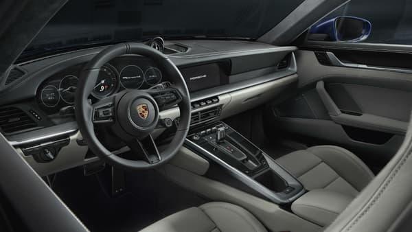 L'intérieur de la nouvelle 911