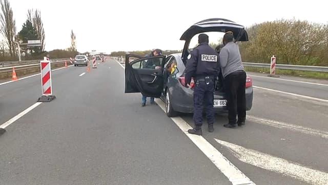 La frontière entre la France et la Belgique est très contrôlée sur les grands axes, moins sur les nombreuses petites routes