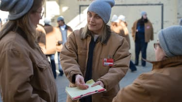 "Taylor Schilling dans ""Orange is The New Black"""