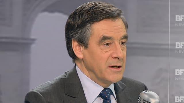 François FIllon sur BFMTV et RMC mercredi