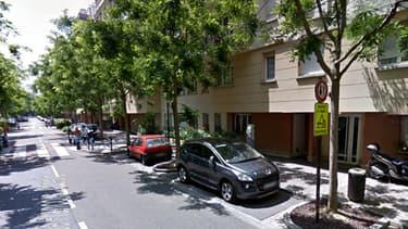 L'adresse où un homme armé s'est retranché chez lui, à Rueil-Malmaison, le 27 janvier 2014.