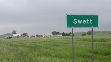 Cet incroyable domaine abandonné est à vendre aux Etats-Unis, dans le Dakota du Sud.