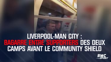 Liverpool-Man City : Bagarre entre supporters des deux camps avant le Community Shield