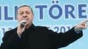 Le Premier ministre turc Recep Tayyip Erdogan, le 13 mars 2014.