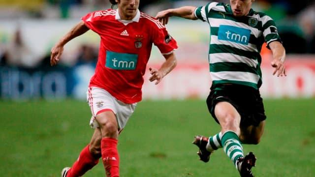 Pablo Aimar sous les couleurs de Benfica