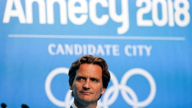 Charles Beigbeder, confiant pour Annecy 2018 à moins d'une semaine du vote