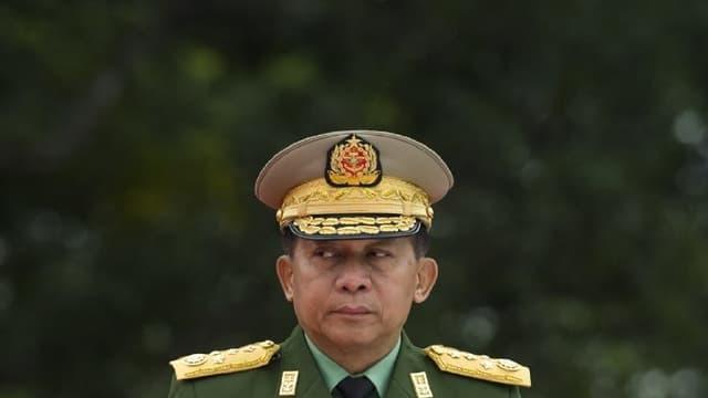 Le chef de l'armée birmane Min Aung Hlaing.