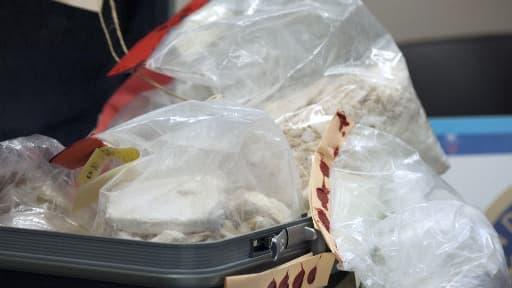 Près de 50 kg de cocaïne ont disparu du 36, quai des Orfèvres. Photo d'illustration.
