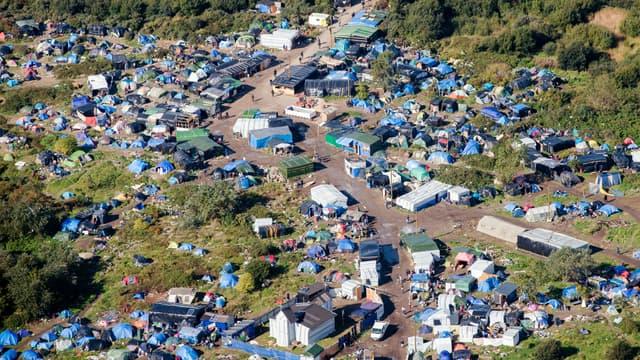 La jungle de Calais, en octobre 2015