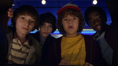 "Les stars de ""Stranger Things"""