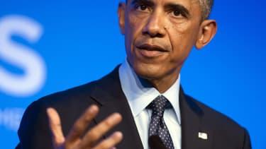 Barack Obama (ici photographié le 5 septembre 2014) présentera dans la nuit de mercredi à jeudi sa stratégie pour contrer l'Etat islamique.