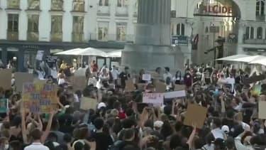 Une manifestation contre les violences policières à Lille.