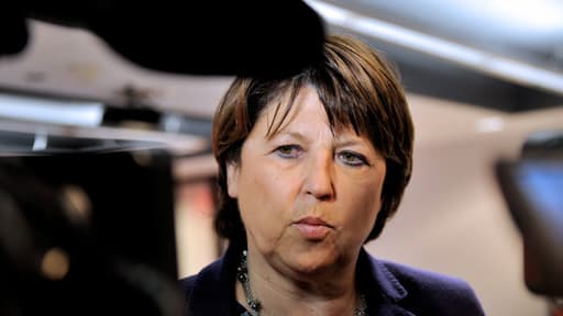 La maire de Lille Martine Aubry est vent debout contre le projet de fusion Nord-Pas-de-Calais/Picardie.