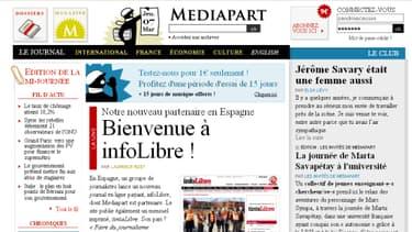 Mediapart est bénéficiaire depuis 2011.