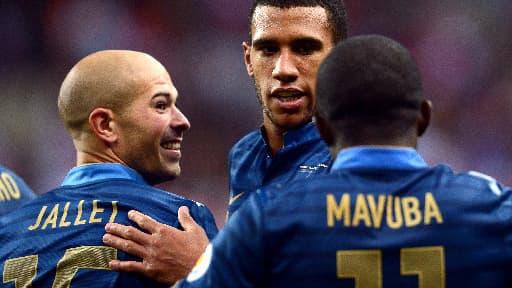Christophe Jallet, Etienne Capoue et Rio Mavuba seront certainement dans le groupe France pour affronter l'Espagne en octobre prochain