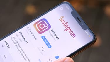 L'application Instagram pour smartphone