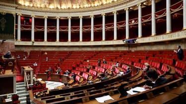 L'Assemblée nationale le 21 mars 2020.