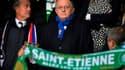 Jean-Michel Aulas affiche fièrement ses couleurs.