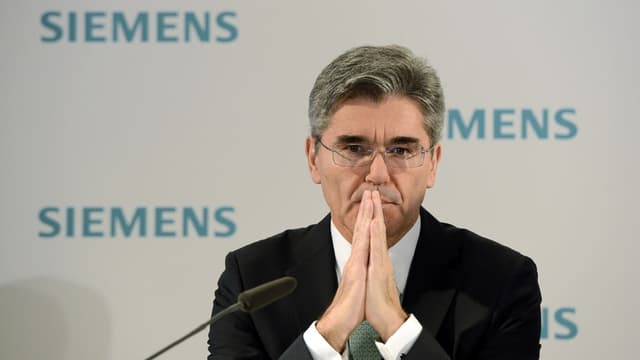 Joe Kaeser, le PDG de Siemens AG.