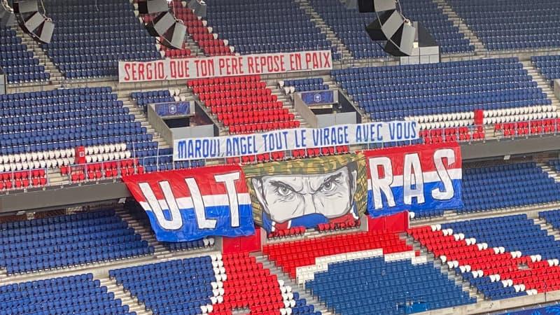 PSG-Lille: le message de soutien des Ultras à Rico, Marquinhos et Di Maria