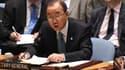 Le secrétaire général de l'ONU Ban Ki-moon, le 10 juillet 2014.