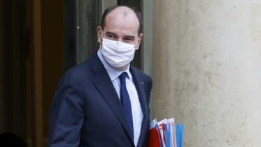 Le Premier ministre Jean Castex le 13 janvier 2021 à Paris