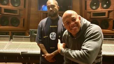 Kanye West et Dr. Dre