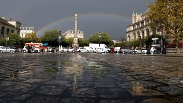 La place du Châtelet à Paris, le 25 octobre 2011.
