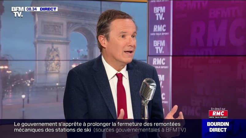 """Nicolas Dupont-Aignan: """"Le couvre-feu à 18h m'est apparu totalement stupide"""""""