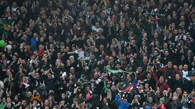 Des supporters du Plymouth Argyle