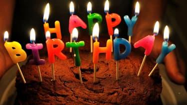 Un gâteau d'anniversaire (photo d'illustration)