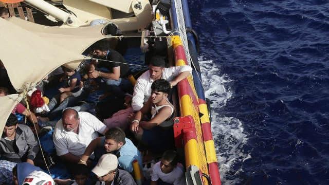 Opération de secours au large de la Libye. (Photo d'illustration)
