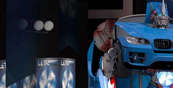Au total, Letvision propose cinq modèles de Transformers, tous sur base de BMW.