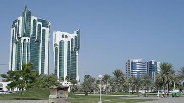 La ville de Doha, capitale du Qatar