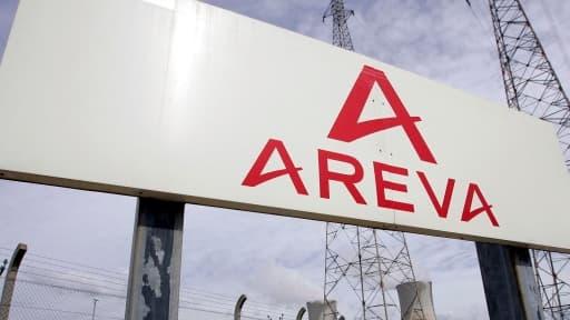 """L'Etat """"prendra toutes ses responsabilités"""" pour assurer l'avenir d'Areva, a déclaré Emmanuel Macron ce 19 novembre."""