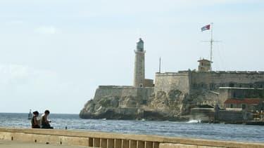 L'entrée du port de La Havane, ici en 2004.