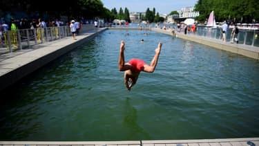 Le bassin de la Villette.