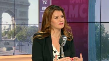 Marlène Schiappa, ministre chargée de la Citoyenneté, sur BFMTV-RMC, le 13 juillet 2020.