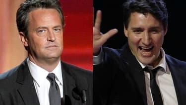 Matthew Perry et Justin Trudeau ont fréquenté la même école au Canada.