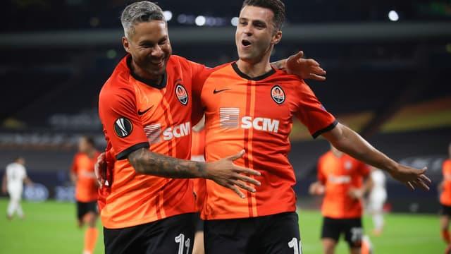 Moraes et Marlos - Shakhtar