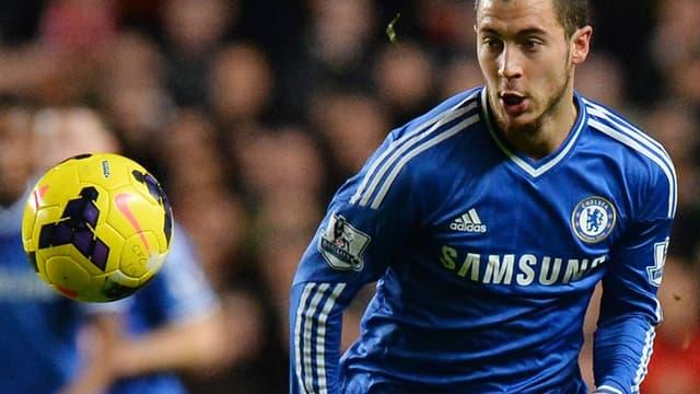 Eden Hazard, l'attaquant de Chelsea