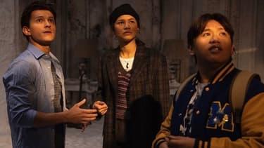 "Tom Holland, Jacob Batalon Zendaya, les acteurs principaux de ""Spider-Man 3"""