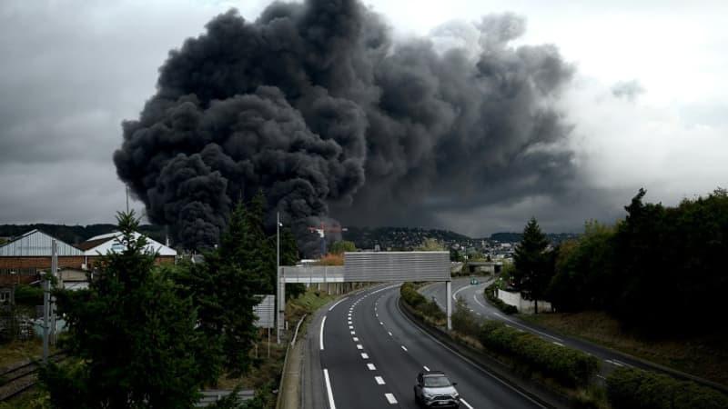 Lubrizol: l'incendie de Rouen a eu un impact sur la santé psychologique