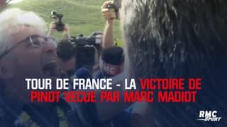 Tour de France - La victoire de Thibaut Pinot vécue par Marc Madiot